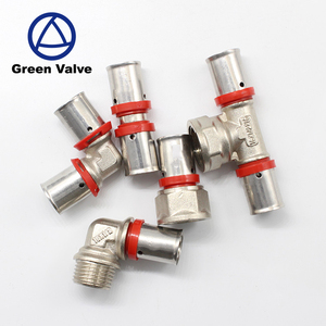 Green Valve High Quality brass fitting 1/8 12mm pneumatic quick connectors