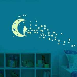 Custom Glow in The Dark Wall Night Glow Stickers for Decorations Luminous Sticker