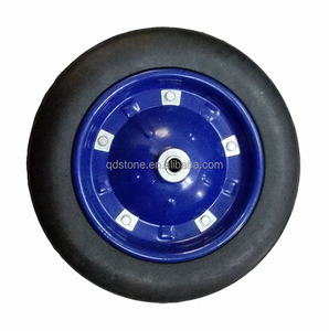 13x3 solid rubber wheels for wheelbarrow