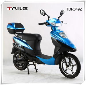 dongguan tailg mini green 350w scooter electric vespa with pedals