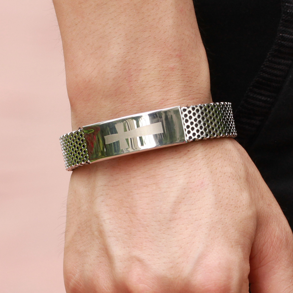 2019 year for women- Bracelet silver for men with price photo