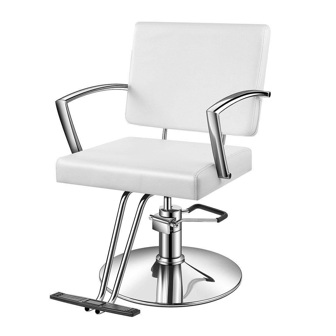 Buy Baasha Hair Salon Chair Red With Hydraulic Pump, Red