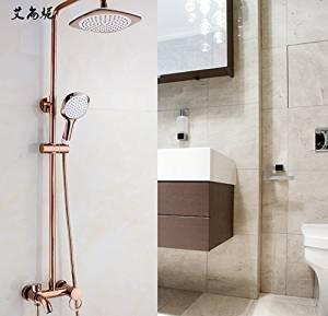 FAYM-European antique copper rose gold showers shower