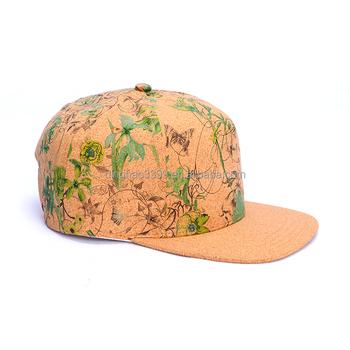 dd2145df9288c Dongguan fornecedor moda cortiça impermeável chapéu de basebol para o  presente  Atacado cortiça impressão de
