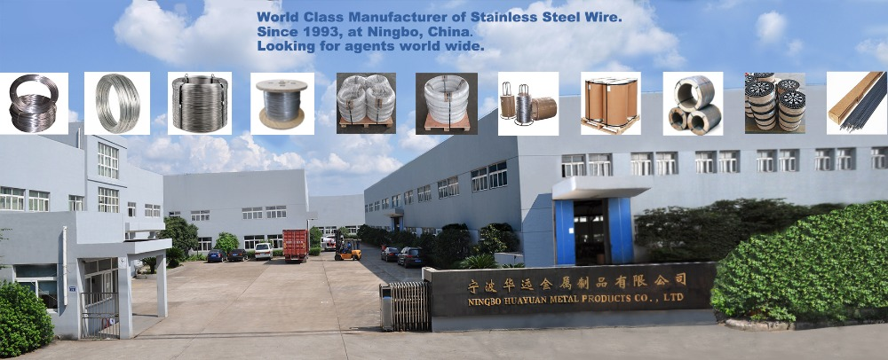 Ningbo Huayuan Metal, Stainless Steel Wire Manufacturer, Chinese SS Wire Factory