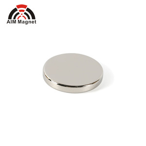 disc/cylindrical nickel coating ndfeb magnet powder D15 x 3.5mm