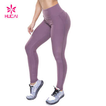 Wholesale Athletic Tights Dry Fit Women Yoga Leggings Fitness Sport