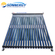 Heat Pipe solar collector with aluminum frame for hot water heating