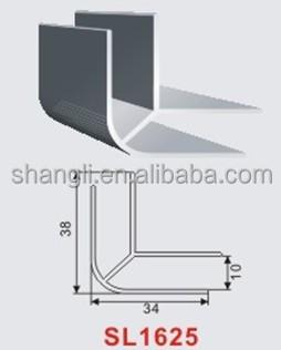 Angolo di alluminio angolo comune per armadio da cucina - Battiscopa per cucina ...