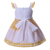 Pettigirl wholesale clothing cotton lace kid new model girls easter dresses