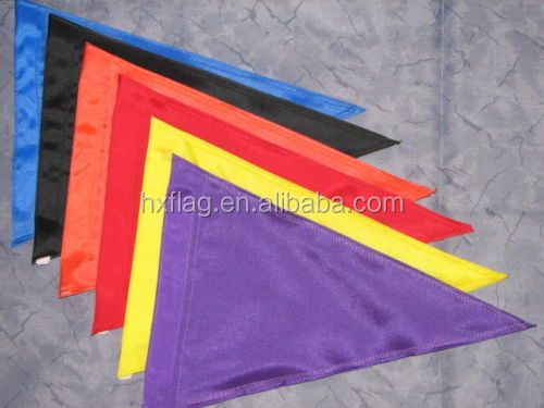 Custom Blank TRIANGLE Safety Flag for ATV UTV Bike Dune Whip Pole