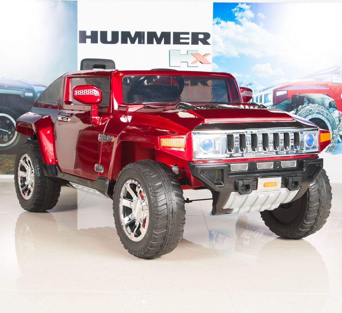 Buy Hummer HX Kids Ride on Battery Powered Electric Car ...