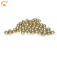 Plating gold hollow Copper ball with slight weight accept customize