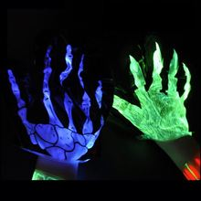wholesale cheap cheering glow gloves Halloween party with glow gloves