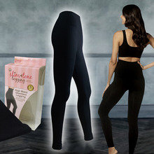 Wholesale Shaper Workout Seamless perfect High Waist Slimming Tone Leggings bamboo charcoal body shaper
