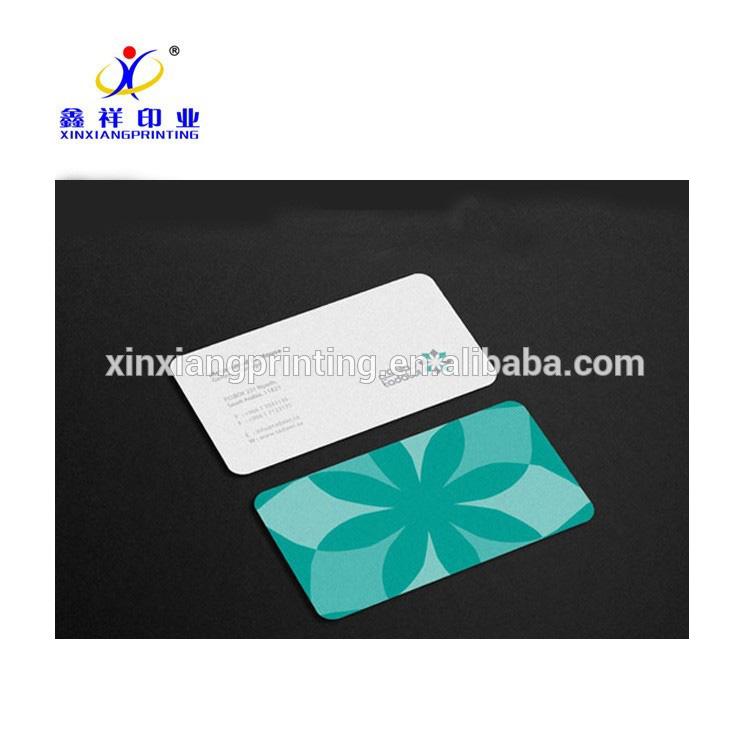 Preço de fábrica personalizado por atacado cartão de visita barato e impressão de design de cartão de nome