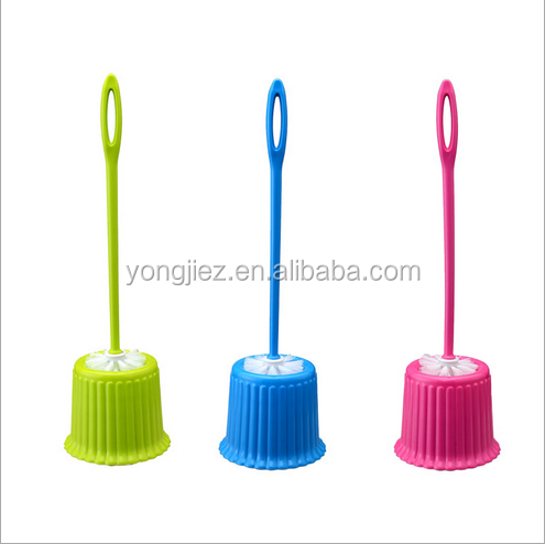 Eco-friendly PP Plastic Cleaning Tools Plastic Toilet Brush Set
