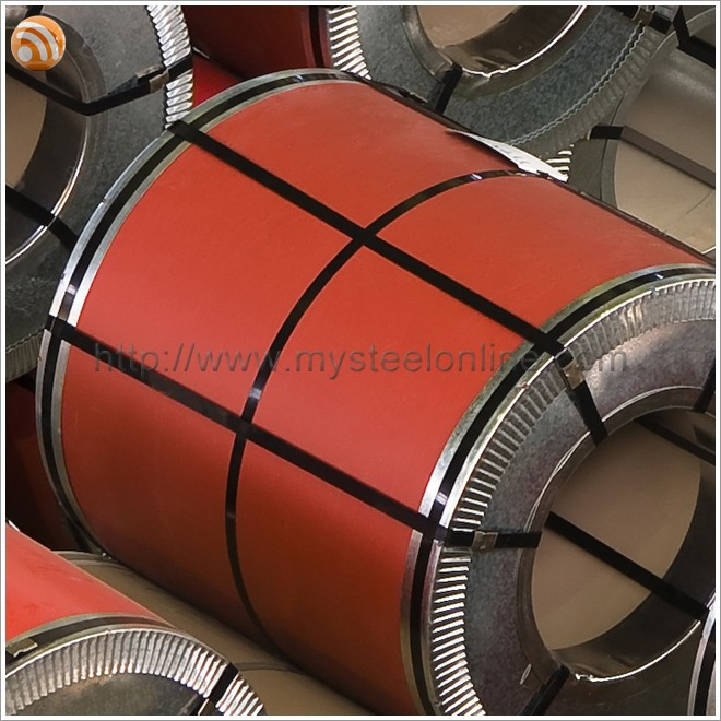 Cold Rolled Technique and Bright Red Color Steel Coil for Sandwich Panel