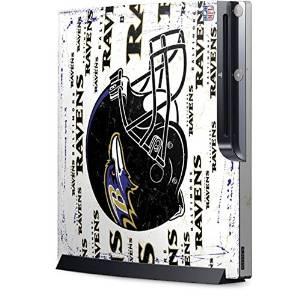 NFL Baltimore Ravens Playstation 3 & PS3 Slim Skin - Baltimore Ravens - Blast Vinyl Decal Skin For Your Playstation 3 & PS3 Slim