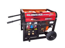 factory price open type electric single phase3kw diesel welder generator for sale