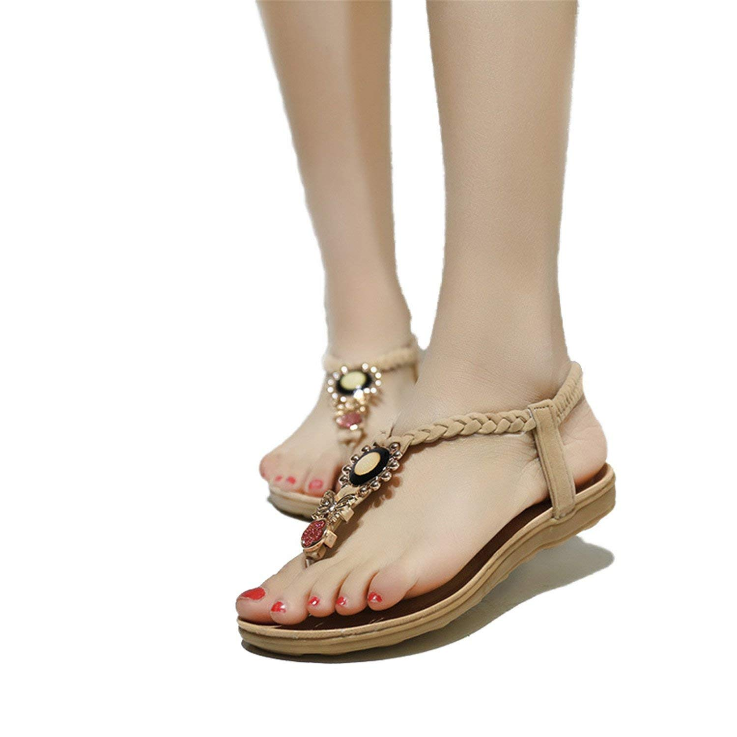 MET RXL Lady,Summer,Leisure,Low Heels,Slippers//Round Head,Flat,A-line Slipper,Beach Shoes