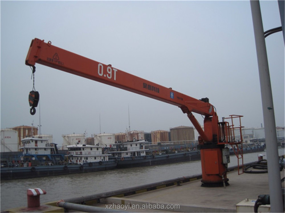 5 ton petite marine grue grue barge mobile port grue avec 3 de radio de contr le vendre grues. Black Bedroom Furniture Sets. Home Design Ideas