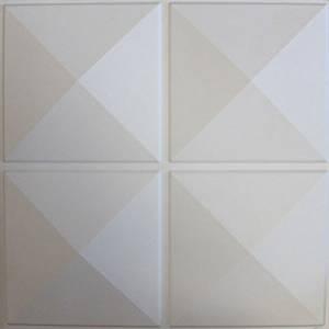 Contempo Living 3D-Diamond Diamond 3D Wall Panel, 27-Square Feet by Contempo Living