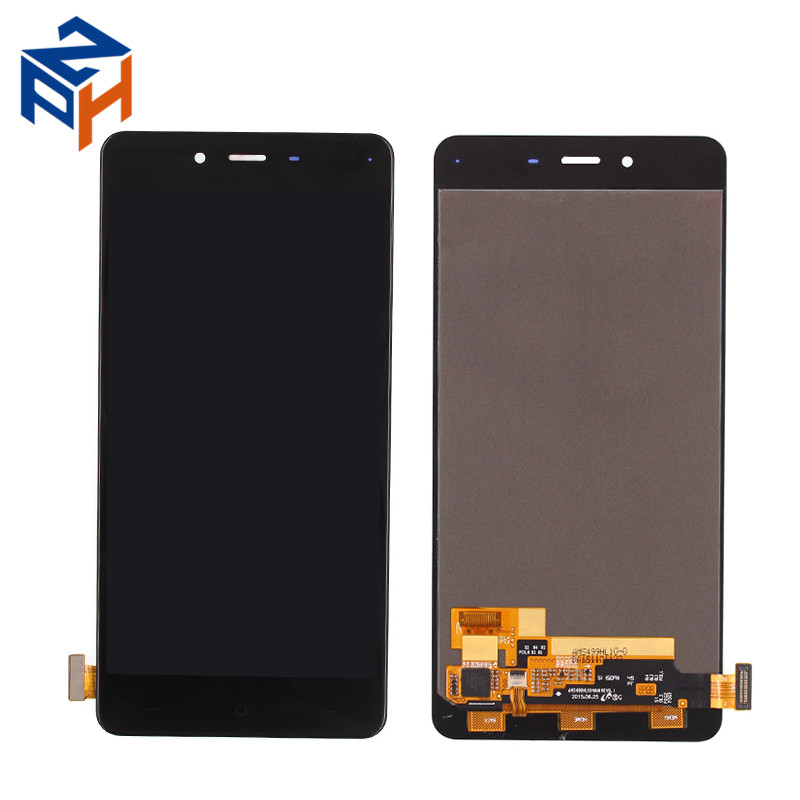 Hot Sales Mobile Phone Parts LCD For Oneplus X LCD Touch Screen Digitizer With Frame