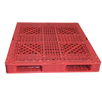 Euro type standard size 1500x1300x150mm plastic pallet prices