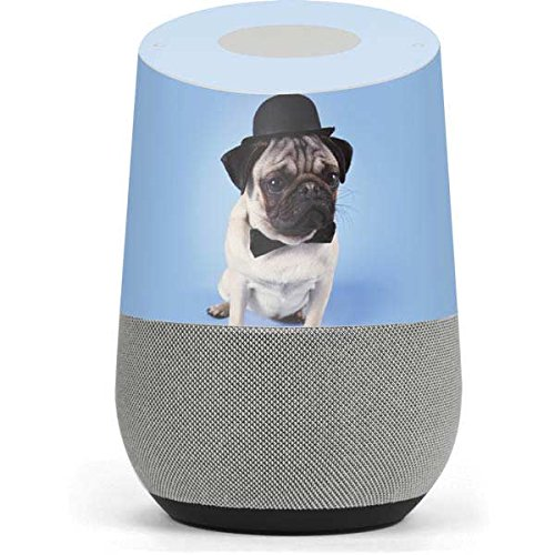 Animal Photography Google Home Skin - Pug Wearing Bowler Hat Vinyl Decal  Skin For Your Home 7f10e4bd534f