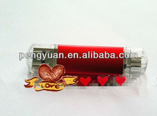 2013 OEM gift plastic smart mobile phone/MID extended micro usb thumb drive