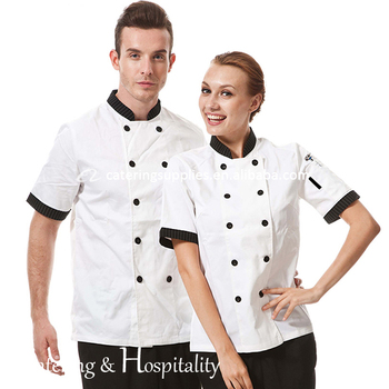 High Quality Sushi Durable Short Sleeves Chef Jackets Coat Uniforms /Chef Uniforms Cloth for Chef