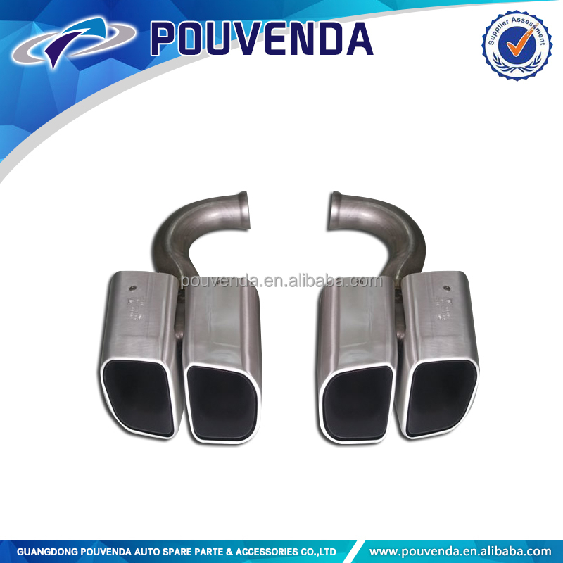 Exhaust Muffler pipe For Porsche Cayenne 4X4 auto accessories