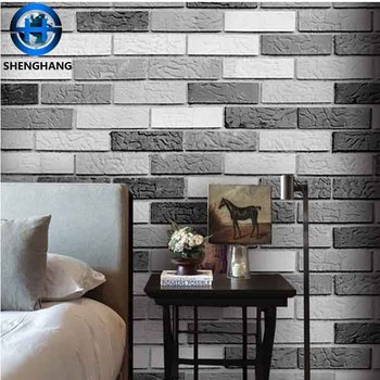 3d Wall Art Stone Pattern Wallpaper Brick Wall Paper Home Hotel Wallpaper Pvc 3d Wall Decor Buy 3d Wallpaper 3d Brick Art White Brick Wallpaper