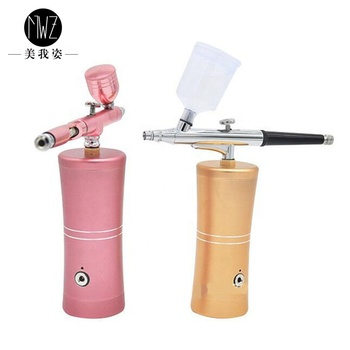 Chargeable Air brush make up kits/Mini Air brush make up/Air brus compressor