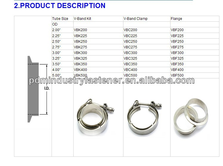 V band clamp view diesel turbo kits pdm product details
