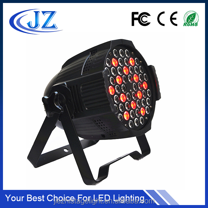 54 3w rgbw 4in1 led par can rgb 3in1 led par