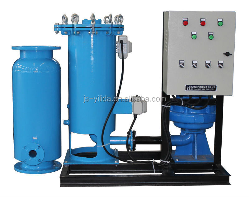 Industrial Cooling Tower Water Condenser Online Cleaning Device ...