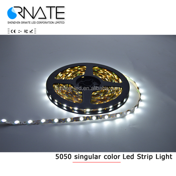 New Bendable Shapable Turn into Angles LED Strip Light 5050 SMD White S PCB 12V 5M 300LED