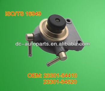 diesel fuel filter primer 23301-54410/23300-54520 for toyota hilux 3l &