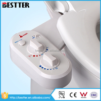 Top quality toilet seat combination ABS bidet attachment