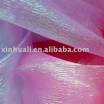 polyester sheer organza fabric