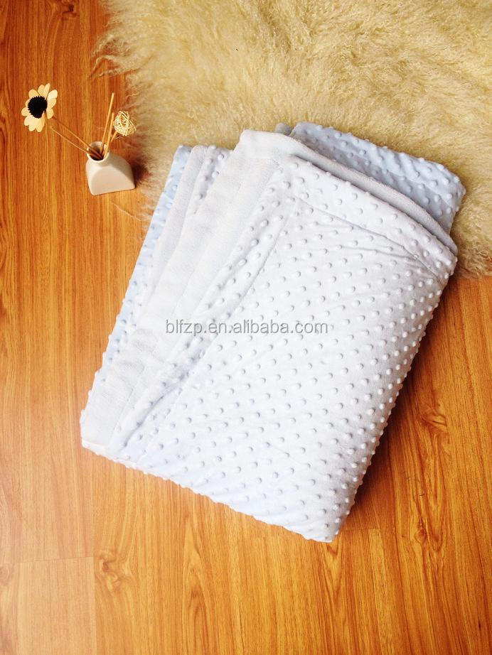 polyester super soft bubble 2 ply korean mink blanket
