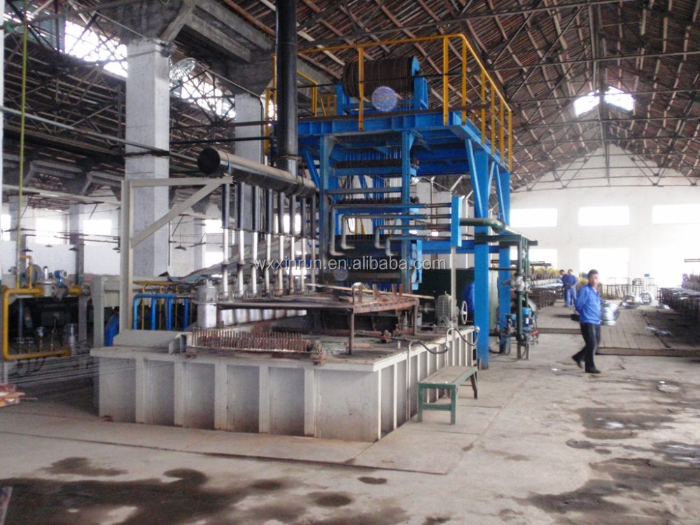 Professional manufacturer for Steel wire hot dip galvanizing continuous line