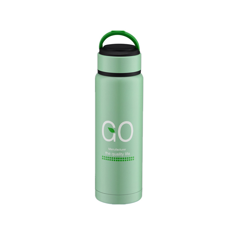 High Quality Cheap Price 18/8 Stainless Steel Tea Bottle With handle