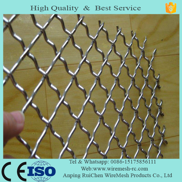 Professional supplier wire mesh/Galvanized crimped wire mesh/stainless steel netting