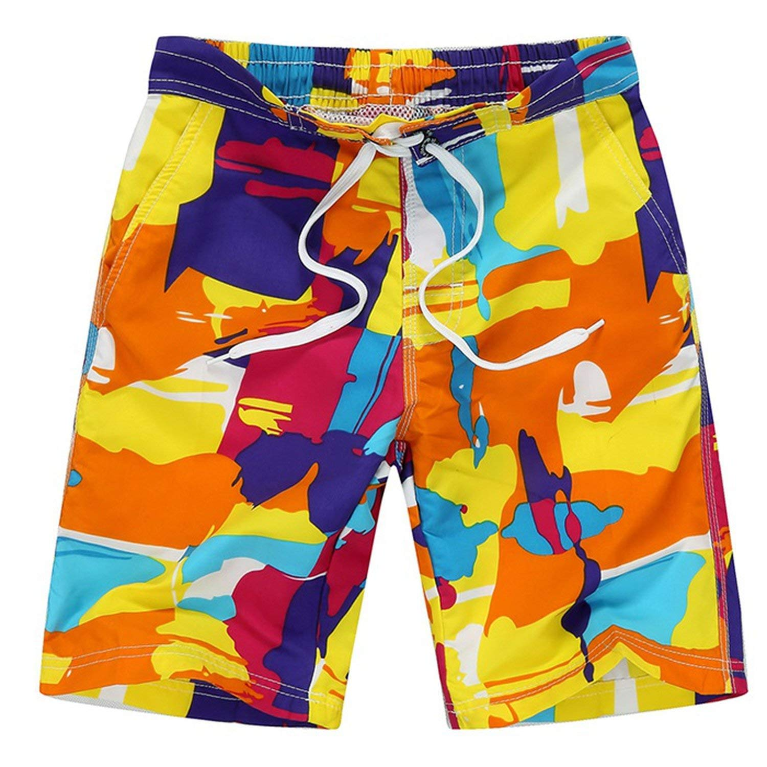 Perfect-Sense-Show 7-14yrs Camouflage Boys Beach Shorts New Fashion Beach Shorts Summer Children Swim Shorts S