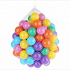 Hot sale colorful plastic 7cm 8cm ball pit ball color ball for kids
