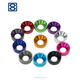 Haiyan bafang colorful anodized aluminum countersunk washer