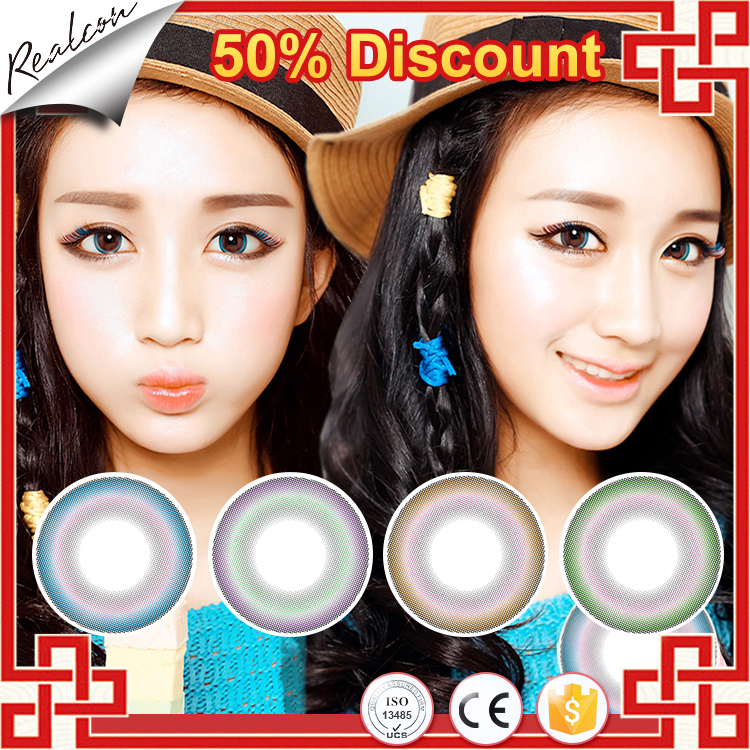 2017 Promotion !!! Wholesale Factory Direct Eyes Lenses Stock 50% Discount Beauty Magic Cosmetic Contact Lenses For Eyes